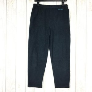 モンベル MONTBELL Ks シャミース パンツ ジュニア キッズ  KID's 150 BK BLACK ブラック系|2ndgear-outdoor