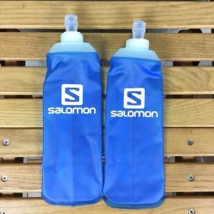 サロモン SALOMON ソフトフラスク 500ml 2個セット SOFT FLASK ソフトフラスコ ハイドラパック  One ブルー系|2ndgear-outdoor