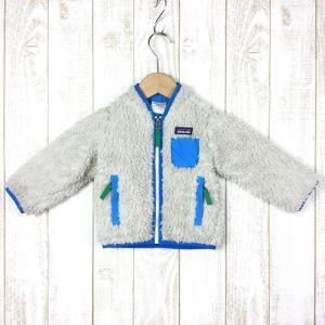 パタゴニア ベビー レトロX ジャケット Baby RETRO-X JACKET ナチュラル アンデスブルー 希少色 2ndgear-outdoor