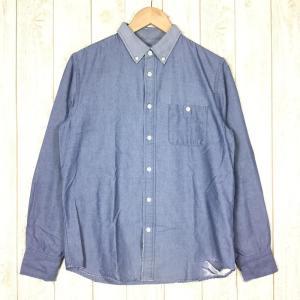 ノースフェイス NORTH FACE ロングスリーブ シャンブレーシャツ  Asian MEN's L ブルー系 2ndgear-outdoor