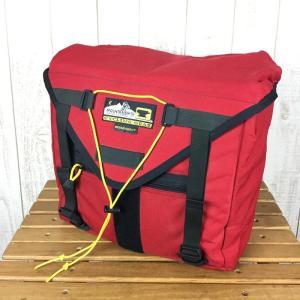マウンテンスミス MOUNTAIN SMITH サイクリングギア メッセンジャー 1 Messenger 1 アメリカ製 希少モデル One レッド系|2ndgear-outdoor