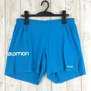 サロモン SALOMON S-LAB ショート 6 S-LAB SHORT 6  MEN's M ブルー系|2ndgear-outdoor