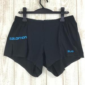 サロモン SALOMON S-LAB ショート 4 S-LAB SHORT 4  MEN's M ブラック系|2ndgear-outdoor