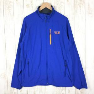 【30%OFF】マウンテンハードウェア MOUNTAIN HARDWEAR チョックストン ジャケット Chockstone Jacket MEN's L ブルー系|2ndgear-outdoor