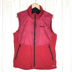 【MEN's XL】マーモット クライム ウールラップ ベスト Climb WOOLWRAP Vest MARMOT MJM-F7008 レッド系|2ndgear-outdoor
