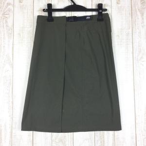 モンベル MONTBELL ストレッチ O.D.スカート  WOMEN's M グリーン系|2ndgear-outdoor
