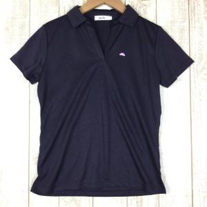 エレッセ Ws 速乾 半袖 シャツ  WOMEN's M パープル系|2ndgear-outdoor