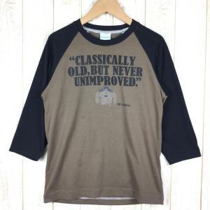 【MEN's XS】コロンビア ウールゼイ 3/4Tシャツ COLUMBIA PM2603 ブラウン系|2ndgear-outdoor
