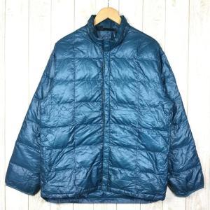 モンベル MONTBELL U.L.ダウンインナージャケット  Asian MEN's XL ブルー系|2ndgear-outdoor