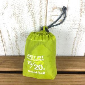 モンベル MONTBELL ジャストフィット パックカバー 20L  One イエロー系|2ndgear-outdoor