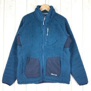 マーモット MARMOT パイル フリース ジャケット  Asian WOMEN's M ブルー系|2ndgear-outdoor