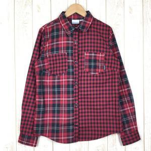 コロンビア COLUMBIA ウィメンズ ウテナシャツ  WOMEN's L レッド系|2ndgear-outdoor