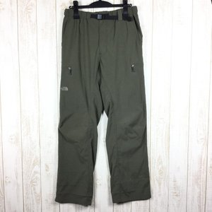 ノースフェイス NORTH FACE トレック ライト パンツ TREK LIGHT PANTS  MEN's L グリーン系 2ndgear-outdoor
