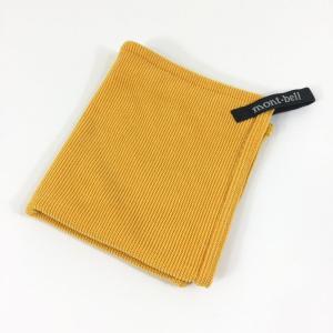 モンベル MONTBELL クイックドライ ハンドタオル  One オレンジ系|2ndgear-outdoor