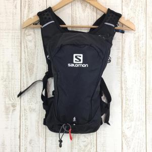 サロモン SALOMON アジャイル 6 セット AGILE 6 SET トレイルランニング パック ベスト バック パック本体のみ One ブラック|2ndgear-outdoor