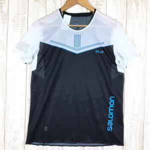 サロモン SALOMON S-LAB センス Tシャツ SENSE TEE SHIRTS  International MEN's M ホワイト系|2ndgear-outdoor
