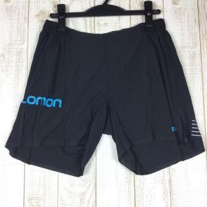 サロモン SALOMON S-LAB ショーツ 6インチ SHORT 6  MEN's M ブラック系|2ndgear-outdoor