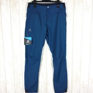サロモン SALOMON アウトスピード パンツ OUTSPEED PANT  MEN's M ポセイドン ブルー系|2ndgear-outdoor