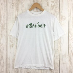 モンベル MONTBELL WIC.Tシャツ mont-bell  Asian MEN's S ホワイト系|2ndgear-outdoor
