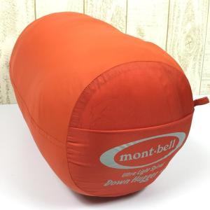 モンベル MONTBELL アルパインダウンハガー #1 RZIP (U.L.スパイラルダウンハガー) One オレンジ系|2ndgear-outdoor