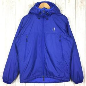 【MEN's S】ホグロフス バリアー フード BARRIER HOOD フーディ ジャケット サーモライト中綿 HAGLOFS ブルー系 2ndgear-outdoor