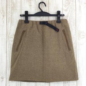 グラミチ ウール G スカート ウールツイード 台形スカート GRAMICCI GLSK-12F002 WOMEN's S ベージュ系|2ndgear-outdoor