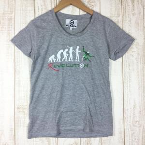 【40%OFF】スカルパ SCARPA REVOLUTION ショートスリーブ クライミング Tシャツ WOMEN's S グレー系|2ndgear-outdoor