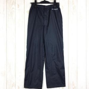 モンベル MONTBELL レインダンサー パンツ  Asian WOMEN's S ブラック系|2ndgear-outdoor