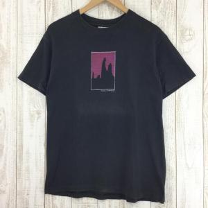 ブラックダイヤモンド BLACK DIAMOND 90s ショートスリーブ グラフィック Tシャツ 希少モデル International MEN's|2ndgear-outdoor
