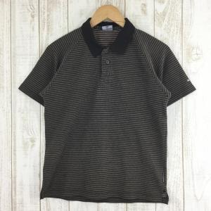 コロンビア COLUMBIA TITANIUM クイックドライ カノコ ポロシャツ  MEN's XS ブラウン系 2ndgear-outdoor