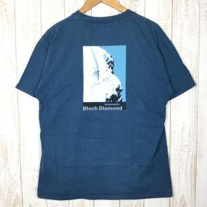 ブラックダイヤモンド BLACK DIAMOND バックカントリー Tシャツ  International MEN's M ブルー系|2ndgear-outdoor