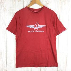 ブラックダイヤモンド BLACK DIAMOND ペレストロイカ ティー Perestroika Tee Tシャツ オリジナル  MEN's M レッ|2ndgear-outdoor