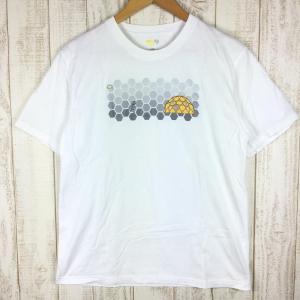 【30%OFF】マウンテンハードウェア MOUNTAIN HARDWEAR ナットマンズ ショートスリーブ Tシャツ MEN's L ホワイト系|2ndgear-outdoor