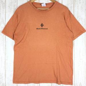 ブラックダイヤモンド BLACK DIAMOND バナー ティー BANNER TEE Tシャツ  International MEN's M オレン|2ndgear-outdoor