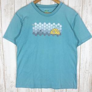 【30%OFF】マウンテンハードウェア MOUNTAIN HARDWEAR ナットマンズ ショートスリーブ Tシャツ MEN's M ブルー系|2ndgear-outdoor
