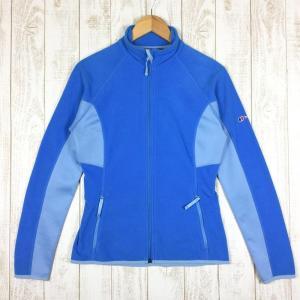 バーグハウス BERGHAUS マイクロストレッチ フリース ジャケット MICRO STRETCH FL JKT  WOMEN's 10 ブルー系|2ndgear-outdoor