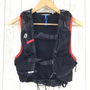 サロモン SALOMON スキン プロ 15 セット SKIN PRO 15 SET トレイルランニング パック  UNISEX One ブラック系|2ndgear-outdoor