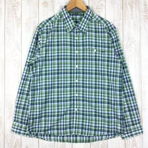 モンベル MONTBELL WIC.ライト シングルポケット ロングスリーブシャツ  Asian MEN's L グリーン系|2ndgear-outdoor