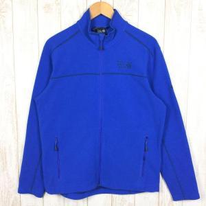 マウンテンハードウェア MOUNTAIN HARDWEAR マイクロ チル ジャケット  MEN's M ブルー系|2ndgear-outdoor