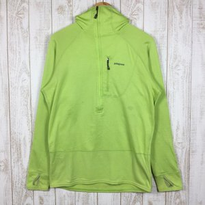 【MEN's M】パタゴニア R1フーディ R1 HOODY レギュレーター ポーラテックパワードライ PATAGONIA 40072 グリーン系 2ndgear-outdoor