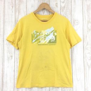 【30%OFF】マウンテンハードウェア MOUNTAIN HARDWEAR アンナプルナ ショートスリーブ Tシャツ MEN's M イエロー系|2ndgear-outdoor