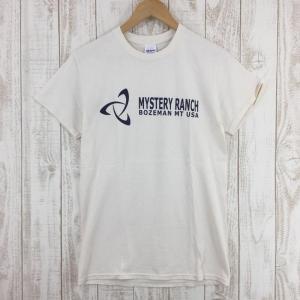 ミステリーランチ MYSTERY RANCH ロゴ Tシャツ 旧デザイン 入手困難  International MEN's S 生成り ベージュ系|2ndgear-outdoor