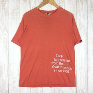 ノースフェイス ヒストリー ティー HISTORY TEE Tシャツ NORTH FACE NT34234 Asian MEN's M オレンジ系|2ndgear-outdoor