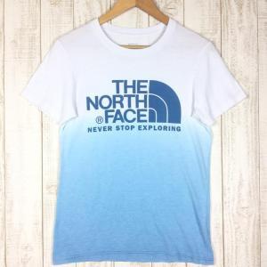 ノースフェイス NORTH FACE GRADATION TEE グラデーション ティー Tシャツ  Asian MEN's S ブルー系 2ndgear-outdoor