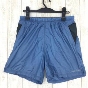 モンベル MONTBELL ランニングショーツ  Asian MEN's L ブルー系|2ndgear-outdoor