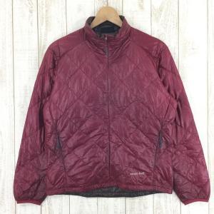 モンベル UL ダウンジップ ジャケット MONTBELL 1101341 Asian WOMEN's S レッド系|2ndgear-outdoor