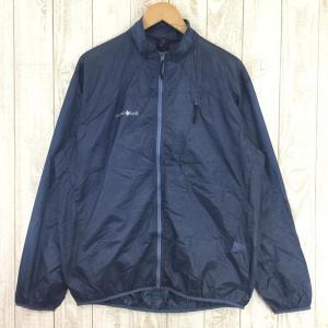 モンベル MONTBELL U.L.ウインドジャケット  Asian MEN's XL ブルー系|2ndgear-outdoor