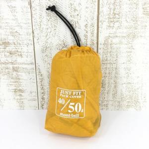 モンベル MONTBELL ジャストフィットパックカバー50 40-50L  One イエロー系|2ndgear-outdoor