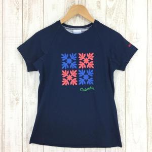 コロンビア COLUMBIA パドルプラッシュウィメンズTシャツ  WOMEN's M ネイビー系 2ndgear-outdoor