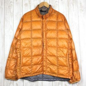 モンベル MONTBELL ULダウンインナージャケット  Asian MEN's XL オレンジ系|2ndgear-outdoor